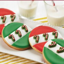 Tree-Worthy Christmas Ornament Cookies