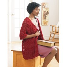 Loops & Threads® Impeccable™ Friendship Shawl (Knit), medium