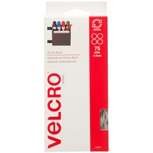 VELCRO Brand STICKY BACK Coins, 75 Sets