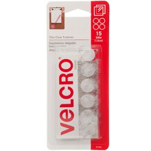 VELCRO Brand Clear Coins