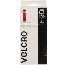 Velcro Brand Industrial Strength Tape, 4ft, Black, New Packaging