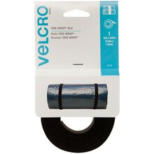 VELCRO Brand One Wrap Straps, 12 ft.
