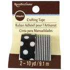 Recollections Washi Tape, Dots & Stripes, Black