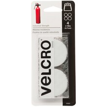 VELCRO Brand Industrial Strength Coins, White
