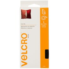 VELCRO Brand Fabric Fusion Tape, 5 ft., Black, New Packaging