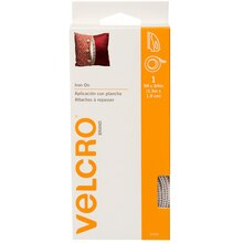VELCRO Brand Fabric Fusion Tape, 5 ft., White, New Packaging