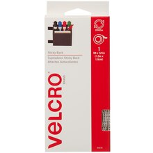 VELCRO Brand STICKY BACK Tape, 5 ft, White, New Packaging