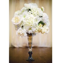 Champagne Wedding Tall Centerpiece