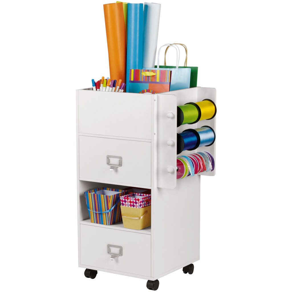 Find the mobile craft storage center by ashland at michaels for Michaels craft storage cart