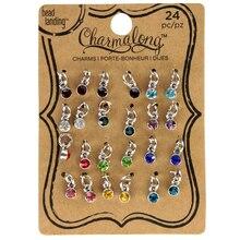 Bead Landing Charmalong 24 Mini Glass Charms