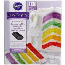 Wilton Easy Layers! Cake Pan Set