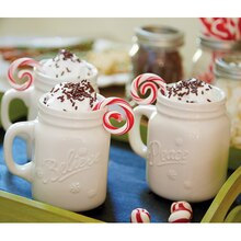Cocoa Mug with Peppermint