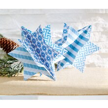 Star of David Paper Crafted Ornament