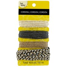 Bead Landing Jute, Natural, 4 Pack