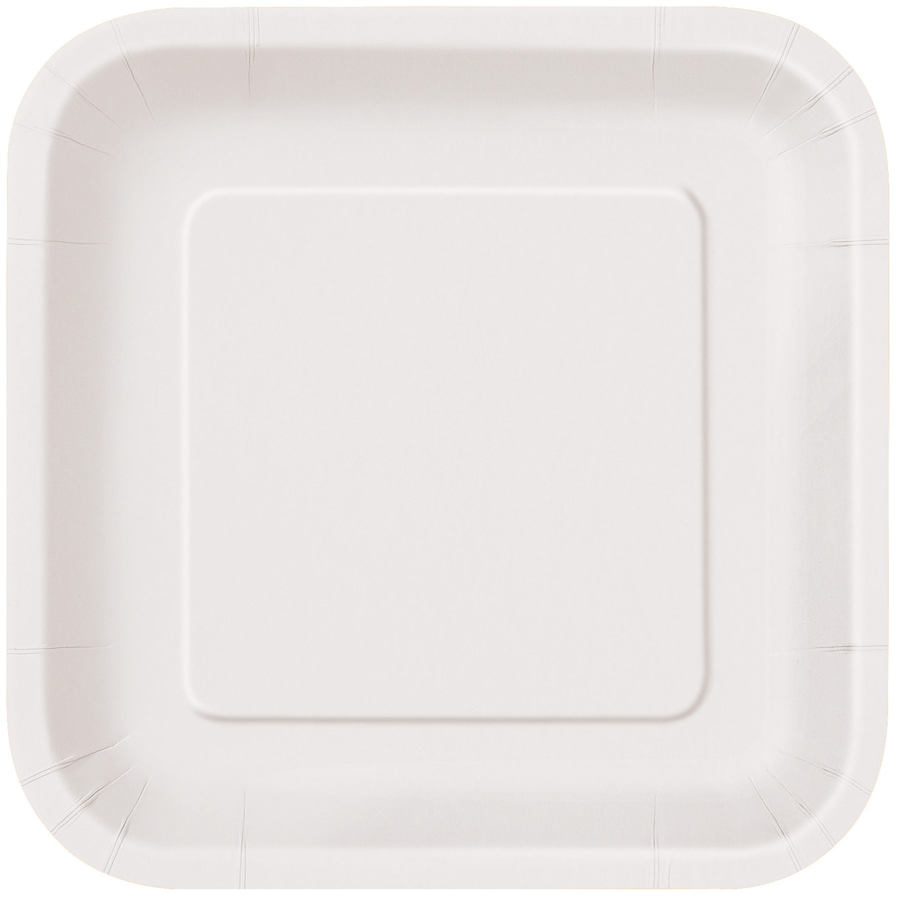 9  Square White Dinner Plates ...  sc 1 st  Michaels Stores & Square White Paper Dinner Party Plates