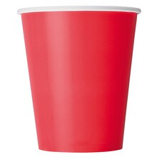 9 oz. Red Paper Cups, 8ct