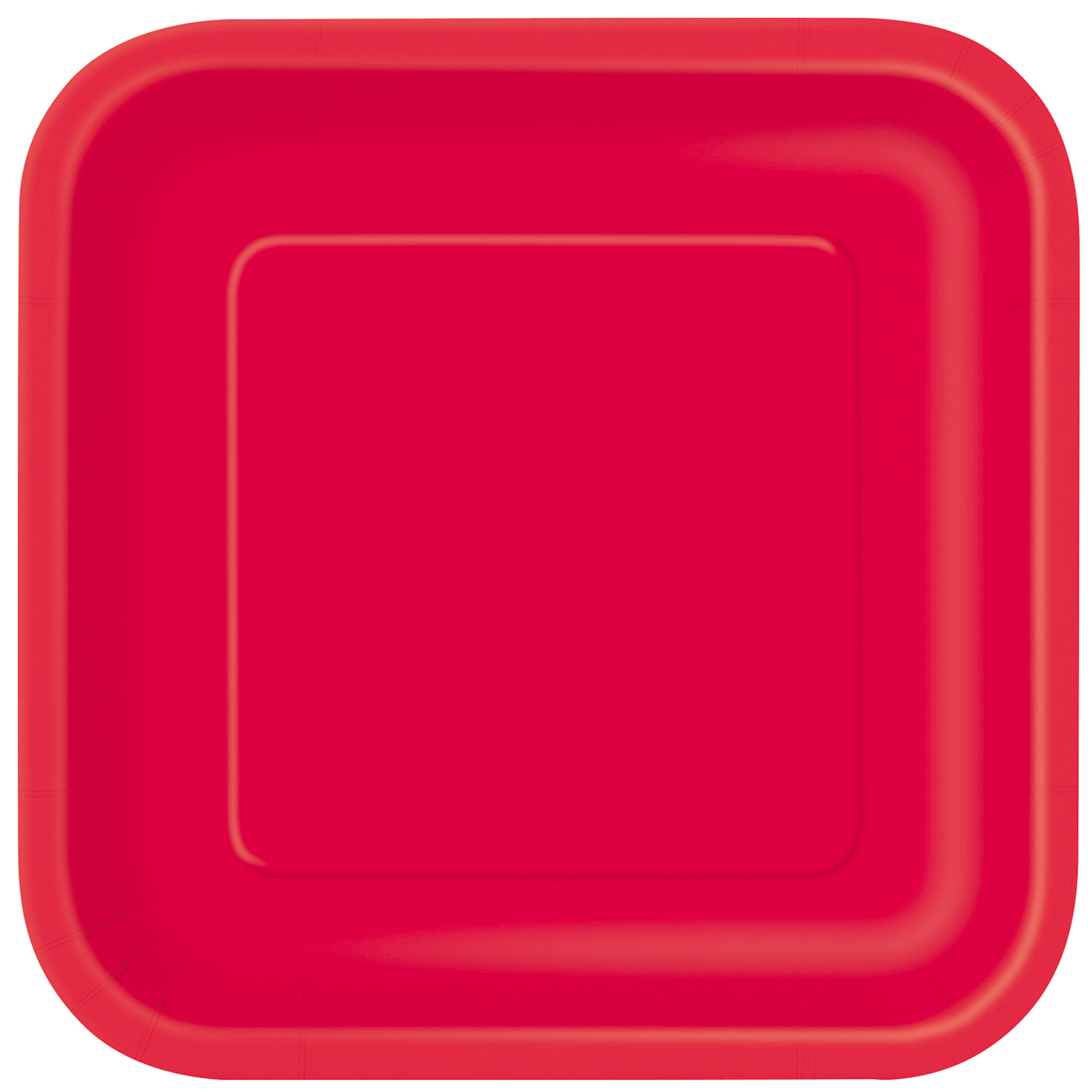 9\  Red Square Dinner Plates ...  sc 1 st  Michaels Stores & Square Red Paper Dinner Party Plates
