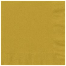 Gold Luncheon Napkins, 20ct