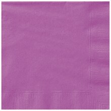 Purple Luncheon Napkins, 20ct