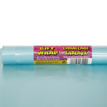 Baby Blue Wrapping Paper, 5 ft.