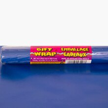 Wrapping Paper, Royal Blue 5 ft.