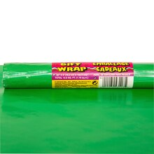 Wrapping Paper, Green 5 ft.