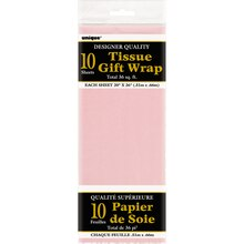 Tissue Paper Sheets, Light Pink 10ct
