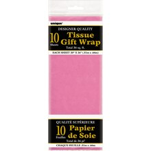 Tissue Paper Sheets, Hot Pink 10ct
