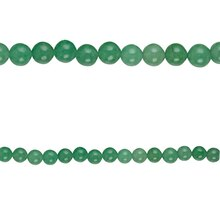 Bead Gallery Aventurine Round Beads, 8mm, Close Up