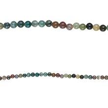 Bead Gallery Round Fancy Jasper Beads, 4mm, Close Up