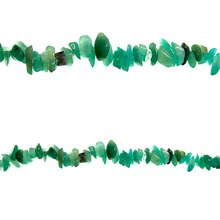 Bead Gallery Aventurine Chip Beads, Close Up