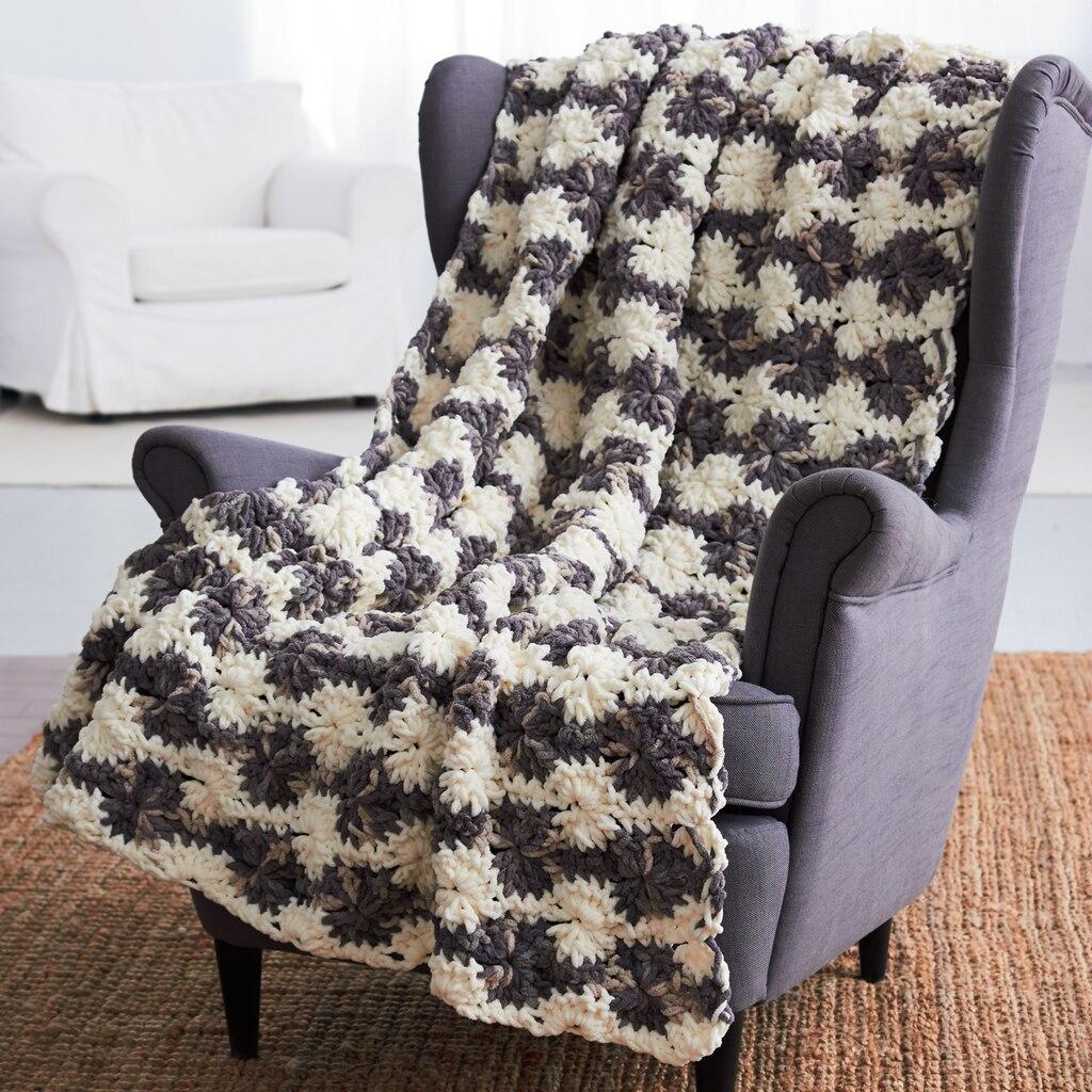 Bernat Knitting Pattern Abbreviations : Bernat  Blanket  Big Wheel (Crochet)