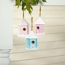 Decoupage Birdhouse