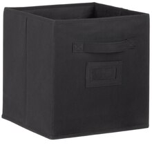 Recollections Craft Storage System Fabric Bin, Black