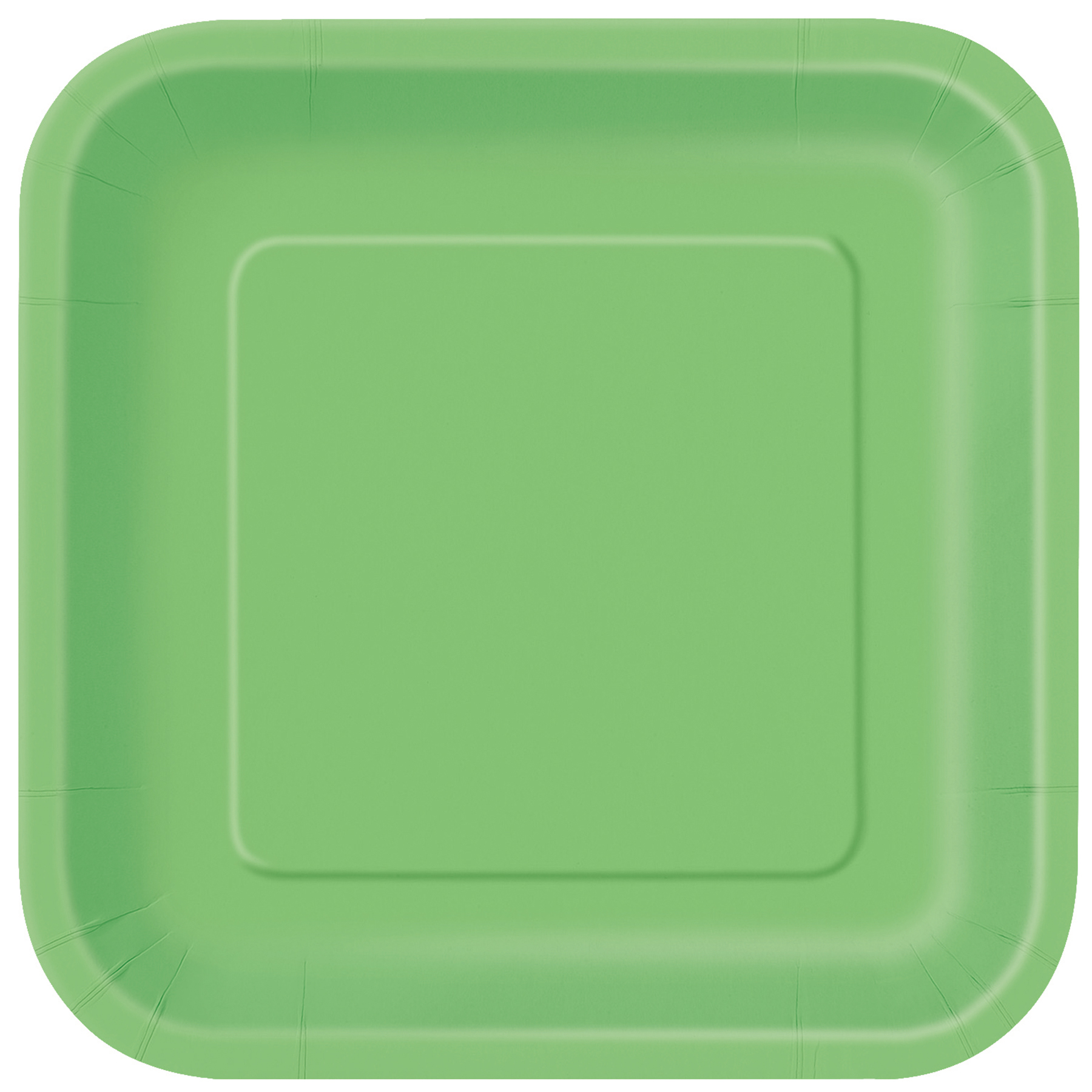 9u201d Square Lime Green Dinner Plates ...  sc 1 st  Michaels Stores & 9
