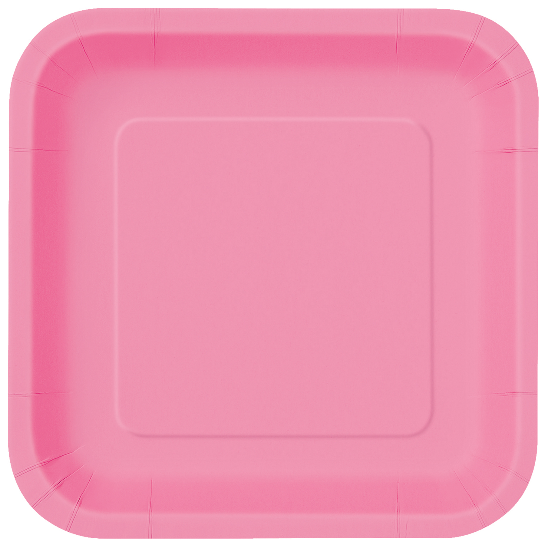 9u201d Square Hot Pink Dinner Plates 14ct  sc 1 st  Michaels Stores & 9