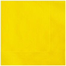Yellow Beverage Napkins, 20ct