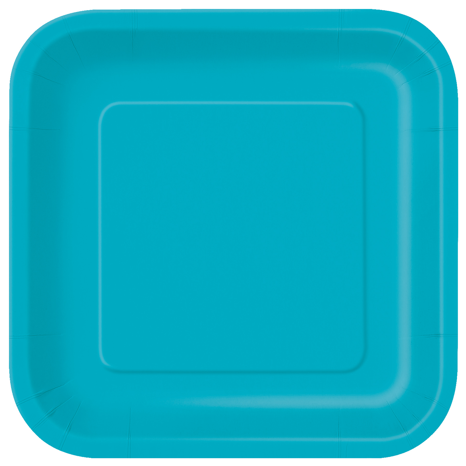 9\u201d Square Teal Dinner Plates ...  sc 1 st  Michaels Stores & 9\