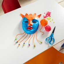 School Project (Art): Mask Making