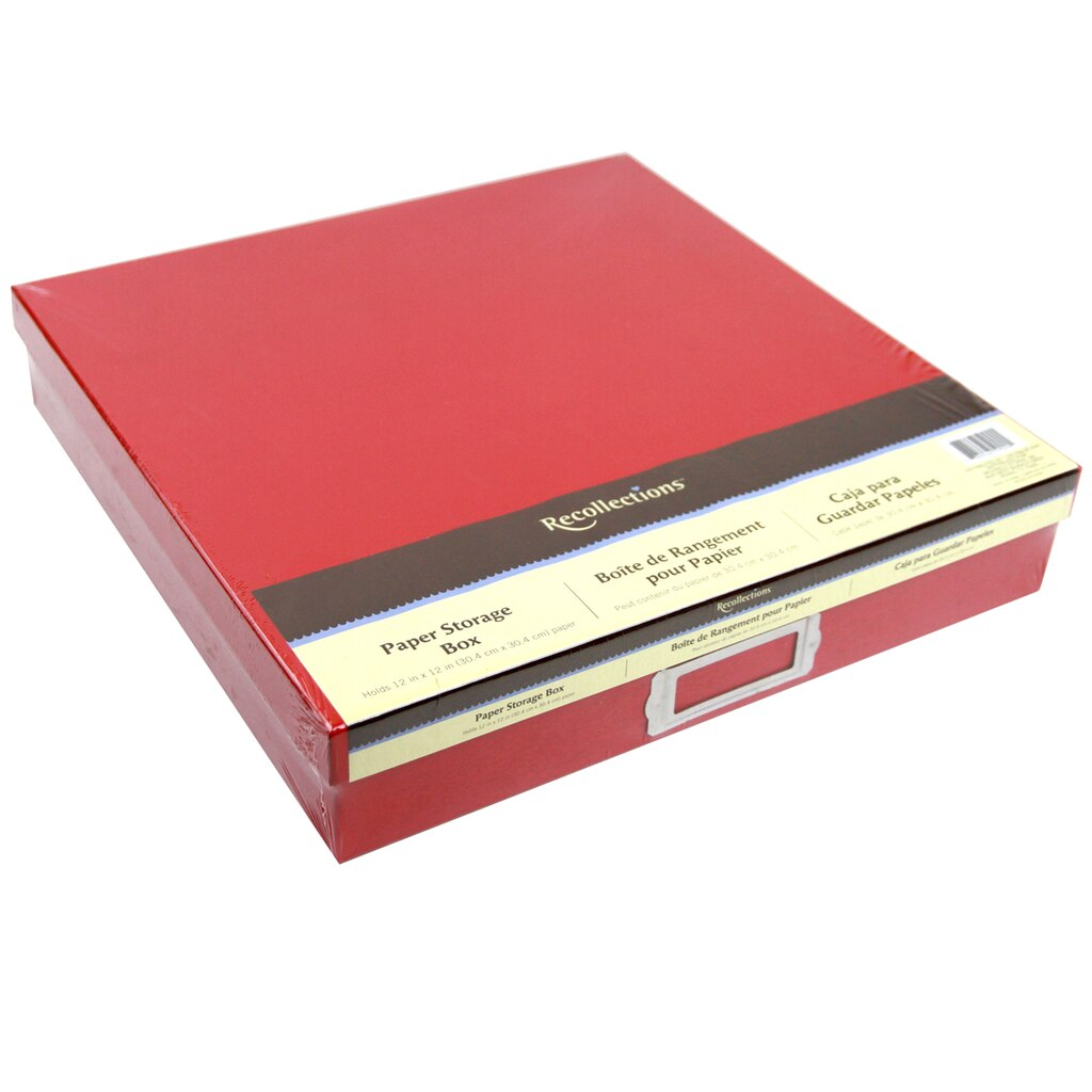 Recollections™ Paper Storage Box