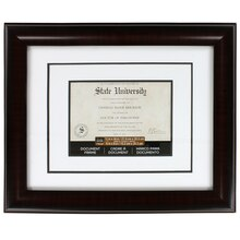 Studio Décor Document Frame With Double Mat