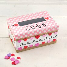 Polka Dot Valentine's Day Card Mailbox