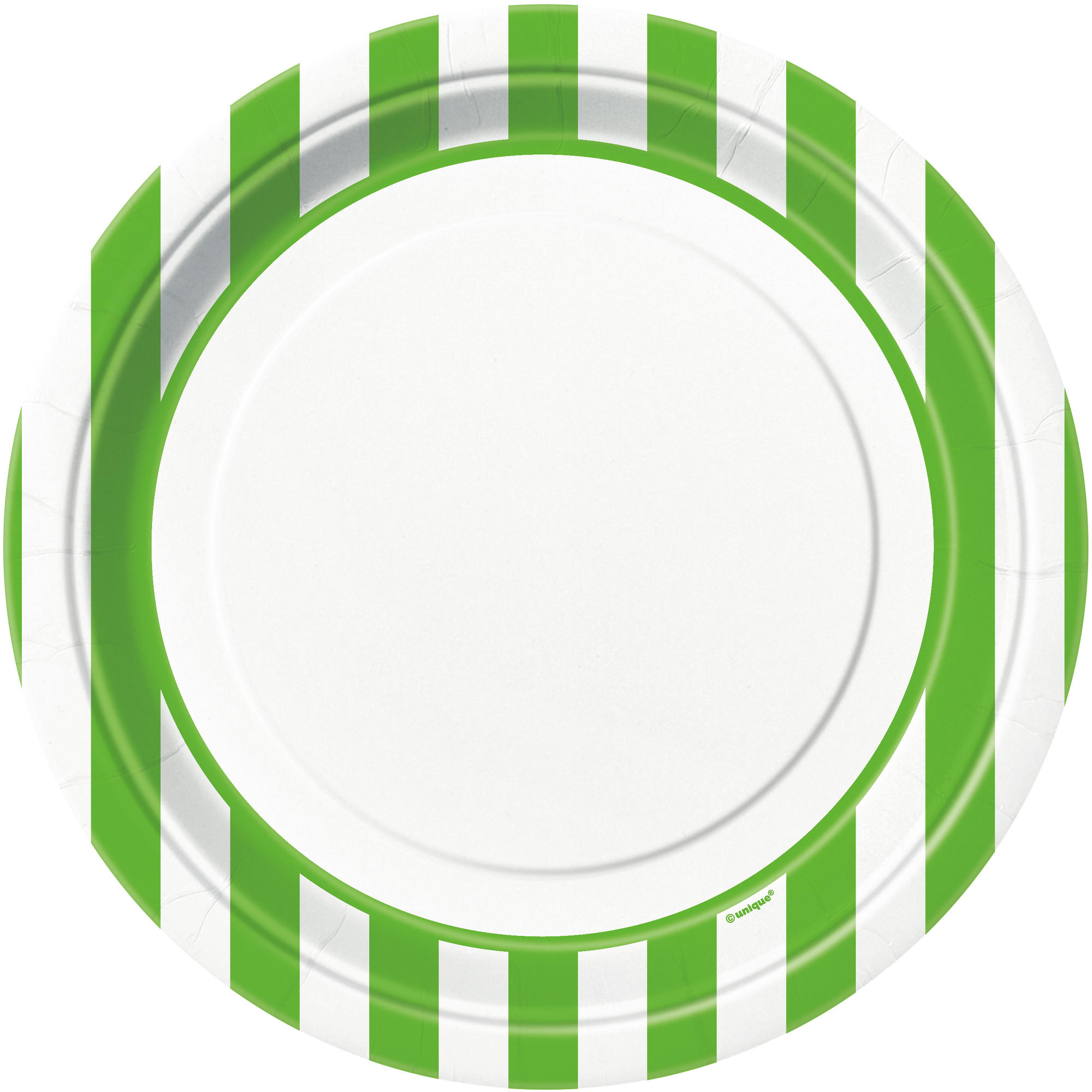 9u201d Lime Green Striped Dinner Plates ...  sc 1 st  Michaels Stores & 9