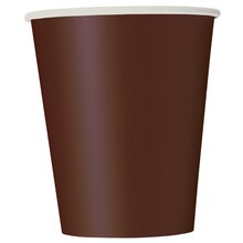 9oz Brown Paper Cups, 8ct