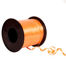 Orange Curling Ribbon, 500 Yd.