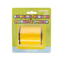 Yellow Curling Ribbon, 100 Yd., Package