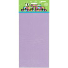 Lavender Paper Party Bags, 12ct, Package