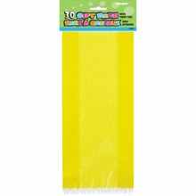 Yellow Cellophane Bags, 30ct