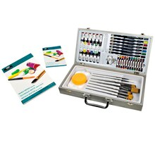 Royal & Langnickel Zen Artist Mixed Media Short Handle Paint Set