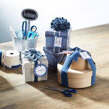 Denim Floral Embellished Gift Boxes